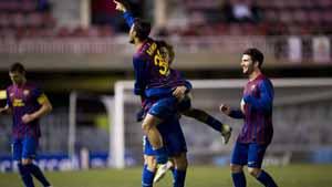 Barça B zagra w derbach Katalonii