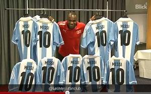 Koszulki Messiego dla wszystkich