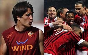 Bojan Krkić vs. AC Milan, czyli 1 na 1