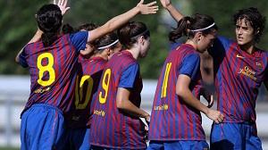 Dziewczyny FC Barcelony rozgromiły Atlético Madryt