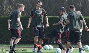 Kadra AC Milanu na mecz z Barceloną