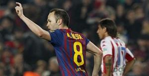 Barcelona nie przegrywa, kiedy Iniesta gola zdobywa