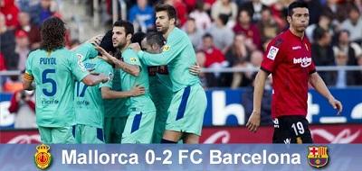 Kolejne ważne trzy punkty: Mallorca 0-2 FC Barcelona
