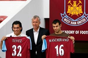 Milan chce pozyskać Teveza i Mascherano