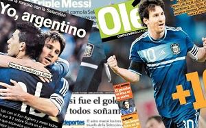 Radość Argentyny za sprawą Messiego