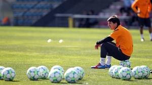 Trening przed Ligą Mistrzów