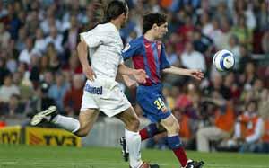 Pierwszy gol Messiego – siedem lat temu