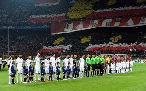 Prawie 7 mln ludzi oglądało mecz Milan-Barça