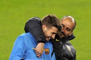 Rosell i Guardiola nigdy nie mówili o Piqué