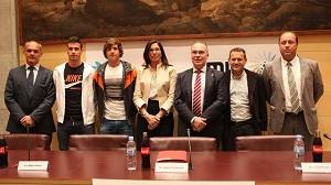 Sergi Roberto reprezentował Barçę na prezentacji MIC