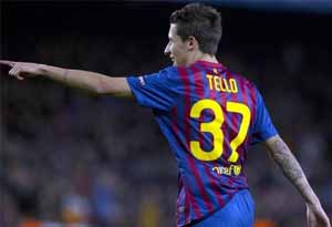 Kibice Barcelony zaufali Tello