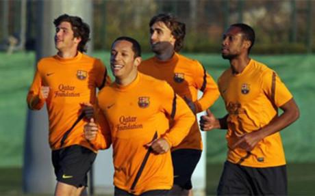 Barça wraca do pracy