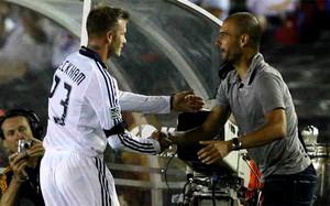 Beckham: Guardiola nie jest tylko wielkim trenerem