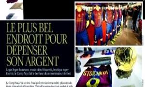 """L""""Equipe poświęca wydanie Barcelonie"""