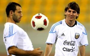 Mascherano będzie gościem w meczu Messiego i jego przyjaciół