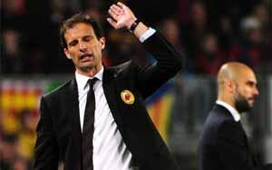 Allegri: Barcelona to faworyt w Lidze Mistrzów