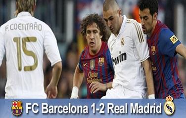 Przegrane mistrzostwo: FC Barcelona 1-2 Real Madryt