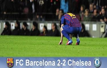 Sen o remontadzie prysł: FC Barcelona 2-2 Chelsea