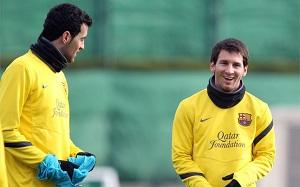 Messi i Busquets – broń Guardioli na Milan
