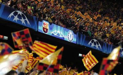 Świetna atmosfera na Camp Nou