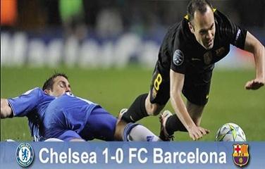 Pierwszy krok do Monachium nieudany: Chelsea Londyn 1-0 FC Barcelona