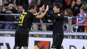 11 bramek Messiego w pojedynkach z Saragossą