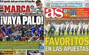 Madryckie gazety przyznały, że Barça była lepsza