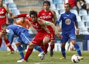 Getafe pokonuje staczający się Sporting Gijón