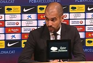 Guardiola: Nie mogę winić drużyny
