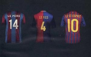 "L""Equipe – historia Barçy na trzech koszulkach"