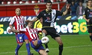 Levante przegrywa ze Sportingiem Gijón