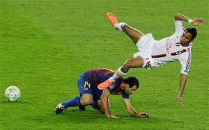 Mecz Barça-Milan przodował w TV