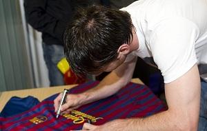 Wygraj koszulkę Leo Messiego z autografem!