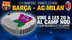 Mozaika na mecz FC Barcelona – AC Milan