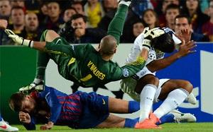 Piqué doznaje szoku po starciu z Valdésem