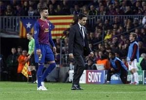 Gerard Piqué nie zagra z Saragossą