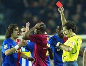Delgado Ferreiro sędzią meczu Rayo-Barcelona