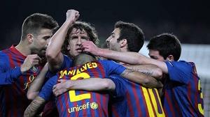 Barça Guardioli wygrała 27 z 29 dwumeczów