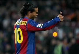 Ronaldinho: W Brazylii ludzie są bardziej za Barçą niż Madrytem