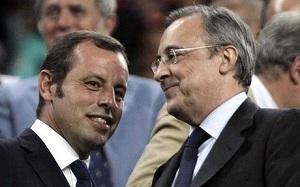 Rosell i Florentino Pérez spotkają się dziś wieczorem