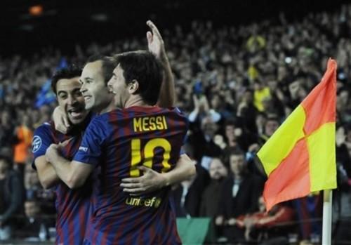 Iniesta po meczu