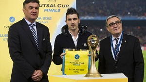 David Villa wylosował pary Final Four w futsalu
