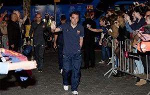 Barça spędziła noc w  hotelu Majestic