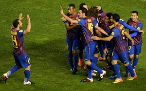 Barça na tropie rekordu bramek w La Liga