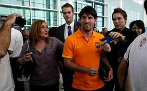 Leo Messi zagra w Cancun w Copa Mundial Maya 2012