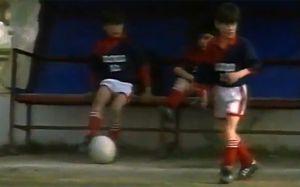 Messi w wieku 8 lat