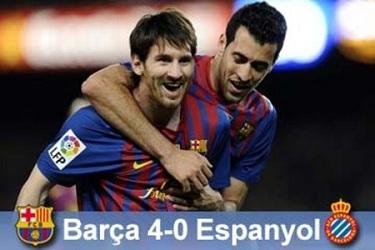 Messi show dla Guardioli: FC Barcelona 4-0 Espanyol
