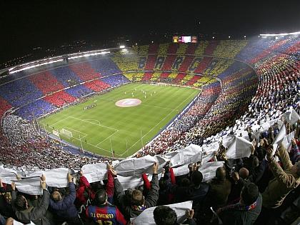 Piłkarze mogą liczyć na wsparcie na Camp Nou