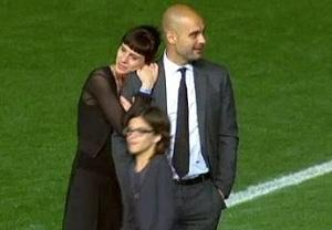 Urokliwe obrazy pożegnania z Camp Nou na osobności