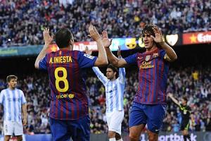 Oceny za mecz FC Barcelona – Málaga
